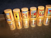 6 X SYCAMORE THIMBLES VICTORIAN ADVERTS LIFEBUOY REDFERN COLMANS FORCE MATCHES